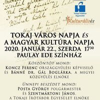 The Day of Tokaj and the Day of Hungarian Culture